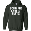 Schrute Farms Hoodie Dark - Forest Green - Shipping Worldwide - NINONINE