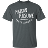 Maison Kitsune Shirt Dark - Dark Heather - Shipping Worldwide - NINONINE