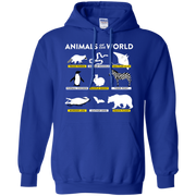 Animals Of The World Hoodie