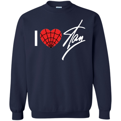 I Love Stan Lee Sweater - Navy - Shipping Worldwide - NINONINE