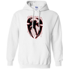 Roman Reigns Hoodie Dark - White - Shipping Worldwide - NINONINE