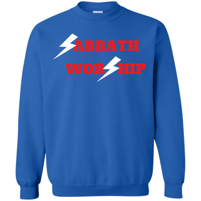Sabbath Worship Sweater - Royal - Shipping Worldwide - NINONINE