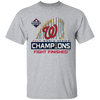 Nationals World Series Shirt - Sport Grey - Worldwide Shipping - NINONINE
