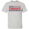 Can You Wear A Candidate Shirt To Vote - Ash - Shipping Worldwide - NINONINE