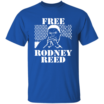Free Rodney Reed T Shirt - Royal - Worldwide Shipping - NINONINE