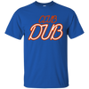 Club Dub Shirt - Royal - Shipping Worldwide - NINONINE