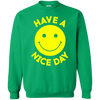 Have A Day Sweater - Irish Green - Shipping Worldwide - NINONINE