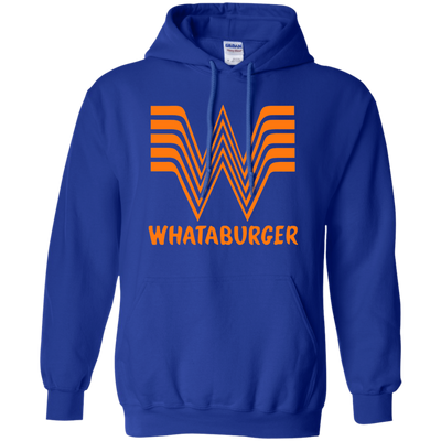 Whataburger Hoodie - Royal - Shipping Worldwide - NINONINE