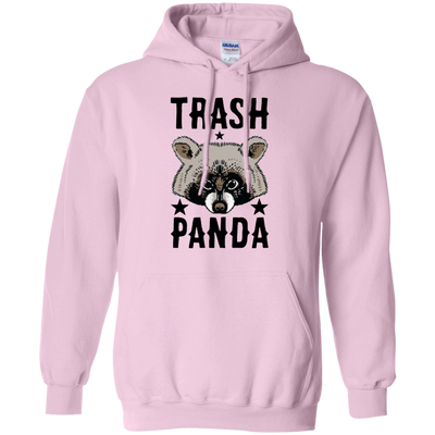 Trash Panda Hoodie - Light Pink - Shipping Worldwide - NINONINE