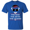 Stan Lee The Man The Myth The Legend Shirt - Royal - Shipping Worldwide - NINONINE
