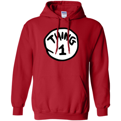 Thing 1 Hoodie - Red - Shipping Worldwide - NINONINE