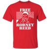 Free Rodney Reed T Shirt - Red - Worldwide Shipping - NINONINE