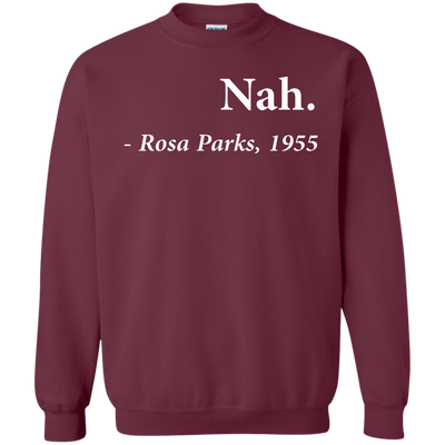Nah Rosa Parks Sweater - Maroon - Shipping Worldwide - NINONINE