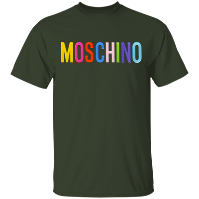 Moschino Colorful Shirt - Forest - Worldwide Shipping - NINONINE