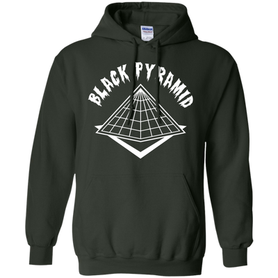 Black Pyramid Hoodie - Forest Green - Shipping Worldwide - NINONINE