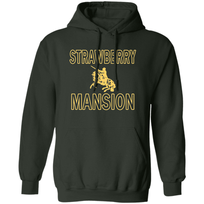 Strawberry Mansion Hoodie - Forest Green - Worldwide Shipping - NINONINE