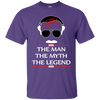 Stan Lee The Man The Myth The Legend Shirt - Purple - Shipping Worldwide - NINONINE