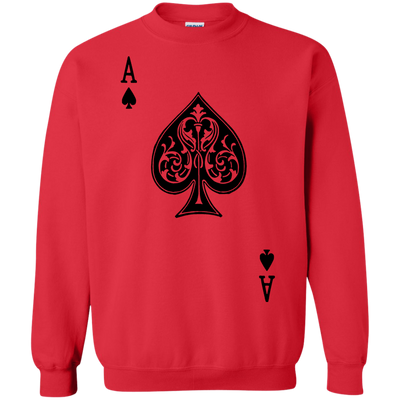 Ace Of Spades Sweater Light - Red - Shipping Worldwide - NINONINE