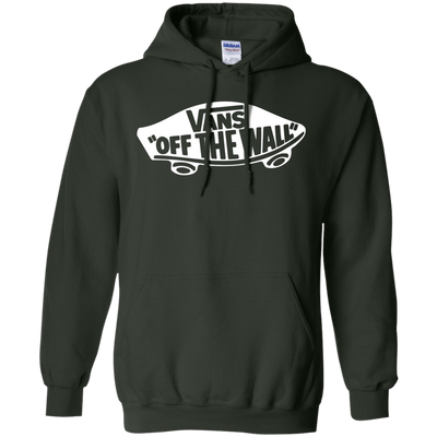 Vans Off The Wall Hoodie Dark - Forest Green - Shipping Worldwide - NINONINE