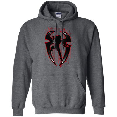 Roman Reigns Hoodie Dark - Dark Heather - Shipping Worldwide - NINONINE