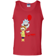 Rick And Morty It Clown And Morty Tank Top