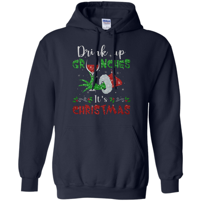 Drink Up Grinches Hoodie - Navy - Shipping Worldwide - NINONINE