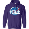 United States Space Force Pew Pew Hoodie - Purple - Shipping Worldwide - NINONINE