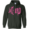 Juice Wrld Hoodie V2 - Forest Green - Shipping Worldwide - NINONINE