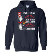 Cat In The Hat Fireball Hoodie