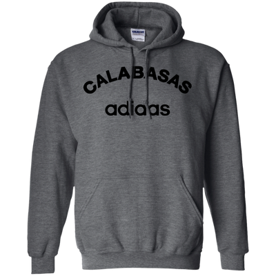 Calabasas Adidas Hoodie - Dark Heather - Shipping Worldwide - NINONINE