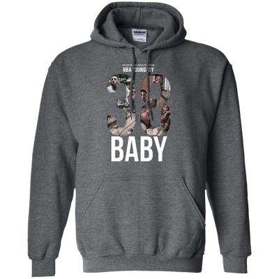 38 Baby Hoodie NBA Youngboy - Dark Heather - Shipping Worldwide - NINONINE