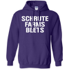 Schrute Farms Hoodie Dark - Purple - Shipping Worldwide - NINONINE