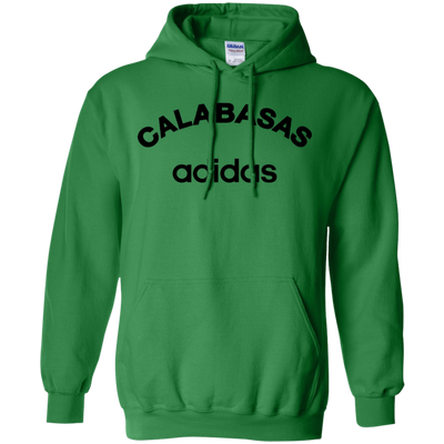Calabasas Adidas Hoodie - Irish Green - Shipping Worldwide - NINONINE