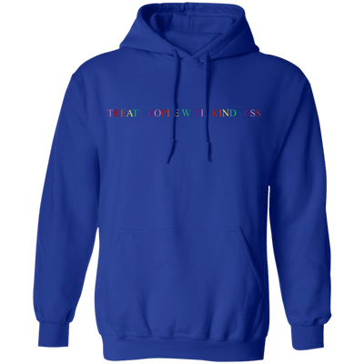 Harry Style Treat People With Kindness Hoodie - Royal - Shipping Worldwide - NINONINE