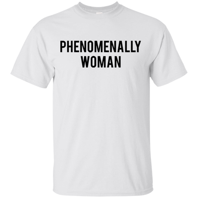 Phenomenally Woman Shirt - White - Shipping Worldwide - NINONINE