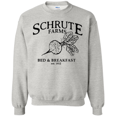 Schrute Farms Bed And Breakfast Est 1812 Sweater - Ash - Shipping Worldwide - NINONINE
