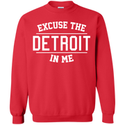 Excuse The Detroit In Me Sweater