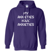 My Anxieties Have Anxieties Hoodie - Purple - Shipping Worldwide - NINONINE