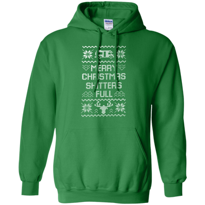 Shitters Full Hoodie - Irish Green - Shipping Worldwide - NINONINE