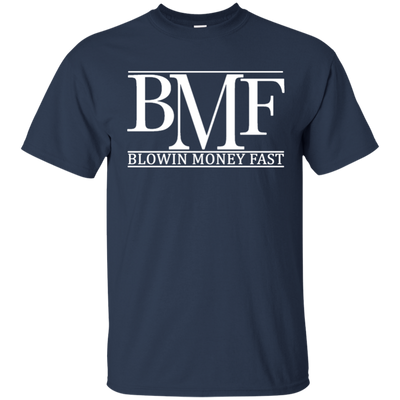 Bmf Shirt - Navy - Shipping Worldwide - NINONINE