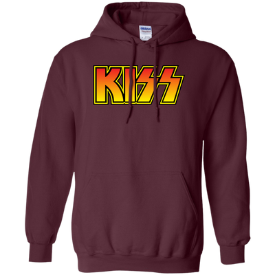 Kiss Hoodie - Maroon - Shipping Worldwide - NINONINE
