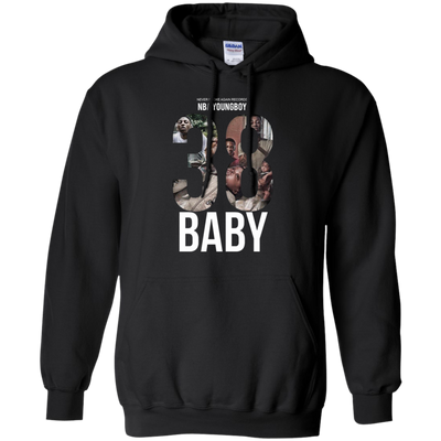 38 Baby Hoodie NBA Youngboy - Black - Shipping Worldwide - NINONINE