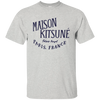 Maison Kitsune Shirt Light - Ash - Shipping Worldwide - NINONINE
