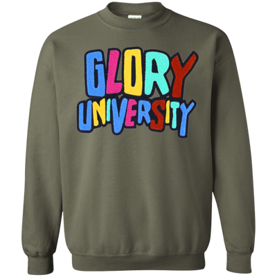 Glory University Sweater - Military Green - Shipping Worldwide - NINONINE