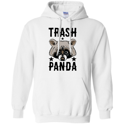 Trash Panda Hoodie - White - Shipping Worldwide - NINONINE