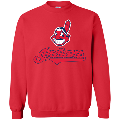 Cleveland Indians Sweater 2 - Red - Shipping Worldwide - NINONINE