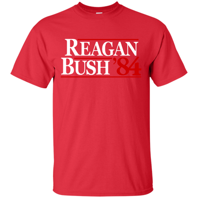 Reagan Bush T Shirt - Red - Shipping Worldwide - NINONINE