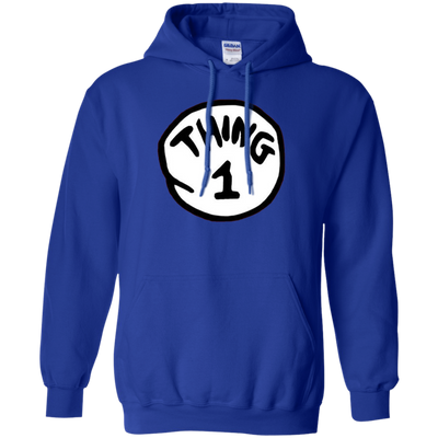 Thing 1 Hoodie - Royal - Shipping Worldwide - NINONINE
