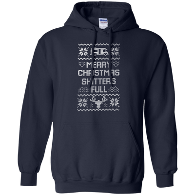 Shitters Full Hoodie - Navy - Shipping Worldwide - NINONINE
