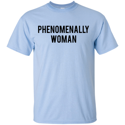 Phenomenally Woman Shirt - Light Blue - Shipping Worldwide - NINONINE
